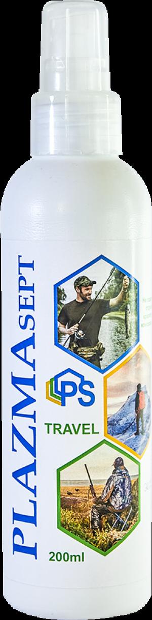 Антисептик для рыбалки, охоты, путешествий «Плазмасепт» ТРЕВЕЛ, 200 мл